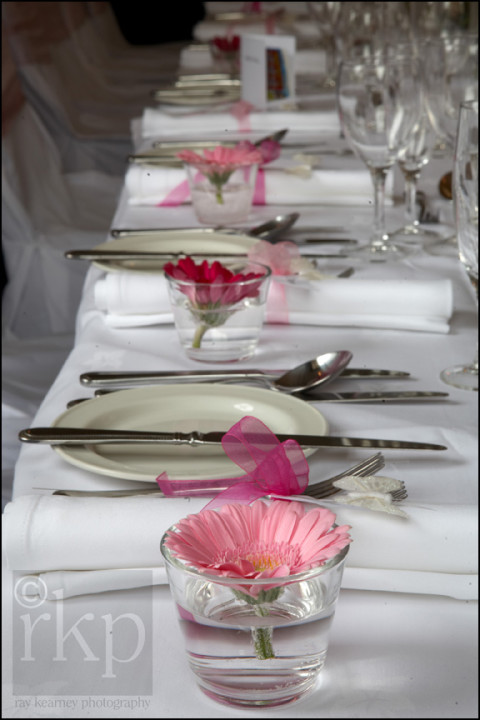 Table details at Staham Lodge Hotel, Lymm